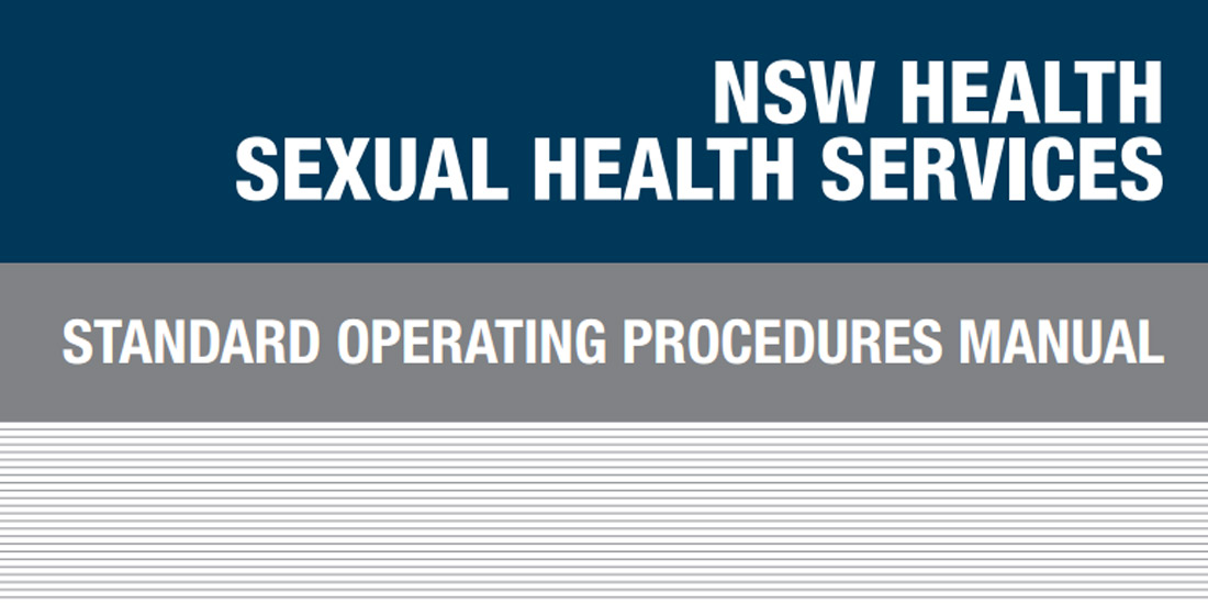 Standard Operating Procedures (SOP) Manual