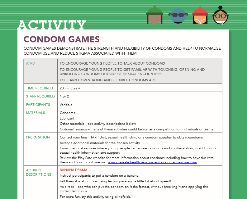 Games with condoms images 630